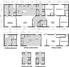 Interesting Floor Plan For A Casual Home No Dining Room Kids Are At