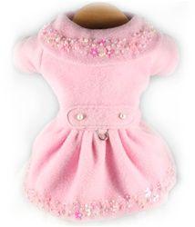 Tiffany Beaded Dress Coat - Classic Pink
