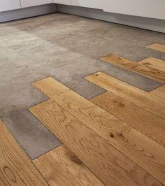 Projekt Scheune 15 Fotos von poliertem Betonboden inspirieren How Long to Install a New Concrete, Diy Flooring, Concrete Kitchen, Kitchen Flooring, Concrete Floors, Concrete Bathroom, Concrete Floors Diy, Flooring, Concrete Kitchen Floor