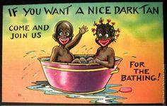 Vintage Racist Postcards - Images