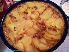 Zapiekanka z ziemniaków i pieczarek/Potato casserole