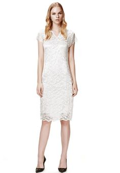 e652c7d389d Elegant Hollow Out Show Thin V-Neck Lace Dress. Luulla. Lace DressesSexy ...
