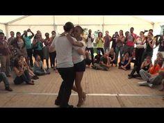 Kizomba Intermédiaire avec Félicien et Isabelle au Kizomba Swimming Festival - YouTube