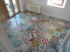Encaustic Tiles Patc