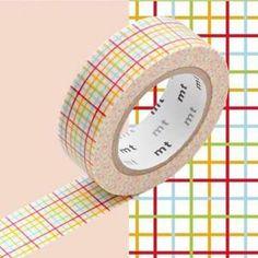 Masking Tape MT Deco Koushi Red - Le Véritable Masking Tape MT Deco créé par Kamoi Kakoshi. Un ruban adhésif en papier Washi facile à utiliser et repositionnable. Une Gamm…Voir la présentation