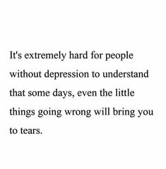 Depression awareness.