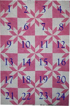 Hunter's Star Quilt Instructions.... I've done this with quiltsmart. Maybe I will get brave and try this way!