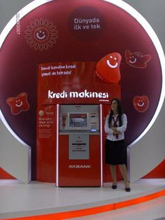 Akbank Banking Kiosk   This kiosk received 'the Most Innovative Project of 2008' award by the Banker's magazine…