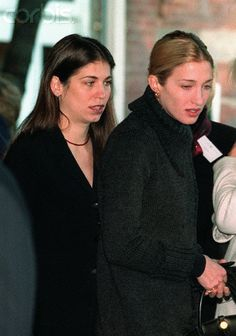 Carolyn Bessette & Lauren Bessette So close , they died together  parents must be just    no words....