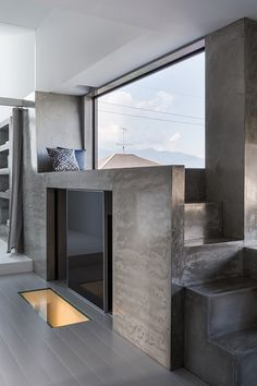 Nous devons cette magnifique habitation au studio d'architecture japonais « FORM / Kouichi Kimura Architects ». Cette construction achevée en 2014 est un e