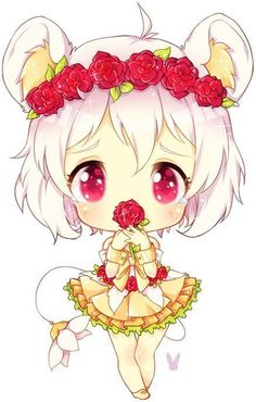 little chibi girl! So kawaii! Kawaii Anime Girl, Manga Kawaii, Cute Anime Chibi, Kawaii Chibi, Anime Love, Manga Anime, Anime Art, Arte Do Kawaii, Art Kawaii