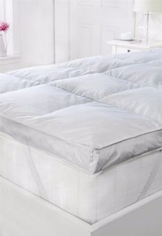 Downland King Size Bed Kingsize Mattress Topper Protector Faux Lambswool Wool