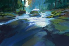 for today i wanted to mainly experiment with shapes and i love doing that with nature scenes, was really fun! Feel free to check out my Patreon for a bunch of goodies! PATREON INSTAGRAM TUMBL...