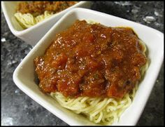 Pastor Ryan's Bolognese (from Pioneer Woman's Blog)