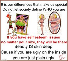 God doesn't like ugly!