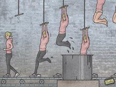 Les Illustrations sarcastiques de Anton Gudim (16)