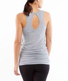 2fa0dd65fdb5c Heather Gray Sleet Yoga Tunic  zulilyfinds Heather Gray