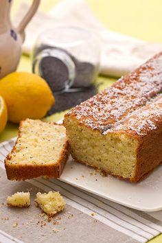 Lemon plumcake