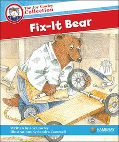 $5.95 Fix-It Bear - Part of the Red Series: Can Hairy Bear fix everything?