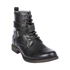 M-ASPENN BLACK men's boot casual zipper - Steve Madden