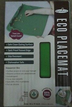 My-Natural-Eco-Placemat-Green-New-Free-Shipping