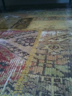 Over-dyed Carpets