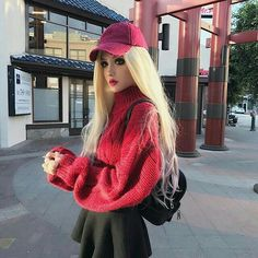 Happy Chinese New Year🍉 blossom wig. Hip Hop Outfits, Cool Outfits, Kina Shen, Lush Wigs, Mode Kawaii, Look 2018, Cute Girl Dresses, Kawaii Clothes, Urban Outfits