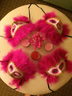 Masquerade bachelorette party