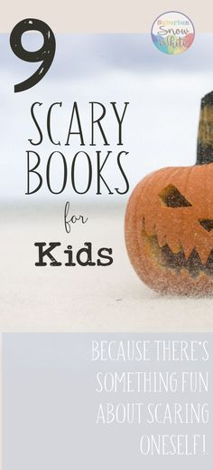 These nine scary books for kids can work for independent reading or for read alouds. Great for upper elementary or middle school grades. These thrilling chapter books and novels will appeal to resistant readers and high level readers alike!