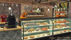 Cafe Croissant lot by Rubi Red- Sims 3 Downloads CC Caboodle