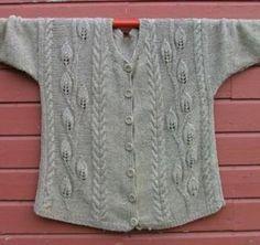 Ravelry: Leaves Jacket pattern by Elaine Phillips - free