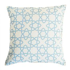 Many hearts linen pillow cover