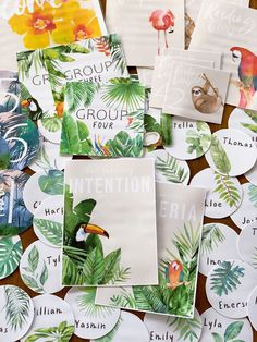 These lush TROPICAL COAST themed classroom labels and signs can be used to decorate your entire classroom this back to school! With leafy green jungle designs, sunset beach scenes, tropical flowers and inky blues, sandy white backgrounds along with flamingos, toucans and parrots - there's plenty of variety to choose from! Easy to edit, choose your label, use our fonts or add your own then press print! Label students desks, trays, tubs, lockers, teacher and office supplies... so many… Classroom Labels, Classroom Displays, Classroom Decor, Tropical Decor, Tropical Flowers, White Backgrounds, Student Desks, Project Based Learning, Sunset Beach