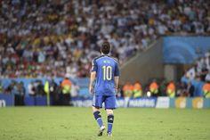 La solitudine di Messi......