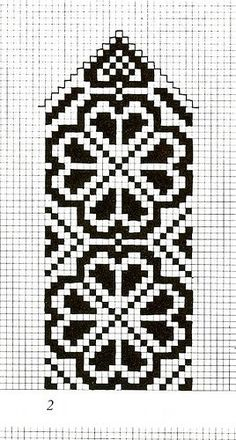 Mönster pattern hjärt-rosa You are in the right place about topflappen stricken perlmuster Here we o Cross Stitch Bookmarks, Crochet Bookmarks, Cross Stitch Charts, Cross Stitch Embroidery, Cross Stitch Patterns, Knitting Charts, Knitting Stitches, Knitting Patterns, Knitted Mittens Pattern