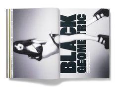 Spread from Plastique magazine