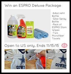 ESPRO Deluxe Package Giveaway November 9-15, 2015
