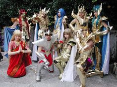 Saint Seiya Cosplay Group