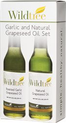 Garlic and Natural Grapeseed Oil Set. http://www.mywildtree.com/PWS/stylewithsue/eventstore149585/AM/product/GARLIC-AND-NATURAL-GRAPESEED-OIL-SET-TWO-8-FL-OZ-BOTTLES,1313,320.aspx