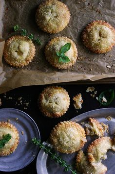 white peach, rose + basil hand pies by Beth Kirby | {local milk}