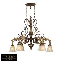 Inspired by the scrolling design of the Trump family crest, Regency creates a rich and regal ambiance. The solid cast iron…