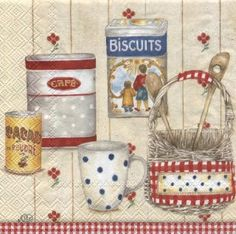 COTTAGE PANTRY red