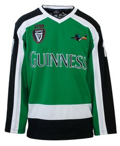 Authentic Guinness hockey shirt.