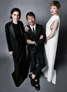 Maria Grazia Chiuri, Pierpaolo Picciolo & Alba Rohrwacher for ELLE US