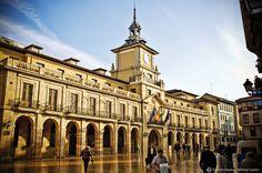 Plaza del Ayuntamiento #Oviedo #ciudades #cities #Asturias #ParaísoNatural #NaturalParadise #Spain