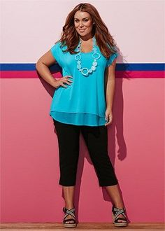 Plus Size women's Clothing, Large Size Fashion Clothes for WOMEN in Australia - STAND OUT TOP - TS14