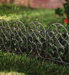 Iron Scroll Edging   Landscape Edging: 10 Easy Ways To Set Your Garden Beds  Apart   Bob Vila
