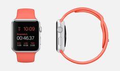 Apple Watch Sport cinturino rosa