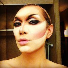 Jay'd Hagberg, Makeup Artist: The Kardashian Cheekbone, or, How to Highlight like a Drag Queen