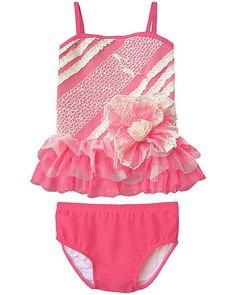 Isobella and Chloe POPSICLE KISSES Lace Tutu Swimsuit BABY Girls (sz 12m-24m) ~Color Me Happy Boutique